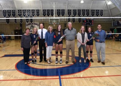 Girls Volleyball : Senior Night : 10.3.17