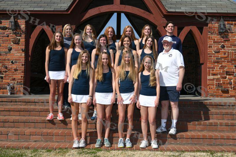 Girls Tennis : Team Portraits : 3.14.18