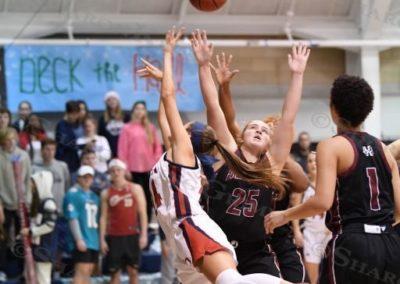 Girls Basketball : vs Holland Hall : 12.15.17