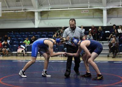 Middle School Wrestling : vs Glenpool : 1.9.18