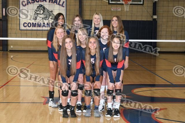 Varsity Girls Volleyball : Team Portraits : 8.9.17