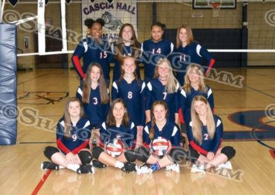 9th Grade Girls Volleyball : Team Portraits : 8.9.17
