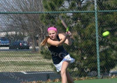 Girls Tennis : vs Kelley : 3.12.18