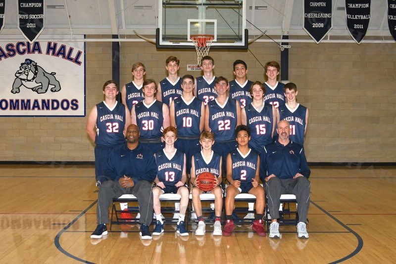 Boys Basketball : Team Portraits : 11.21.17