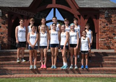 Middle School Cross Country : Team Portraits : 8.23.17