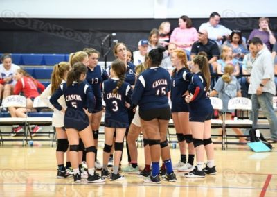 9th Grade Girls Volleyball : vs Metro : 8.29.17