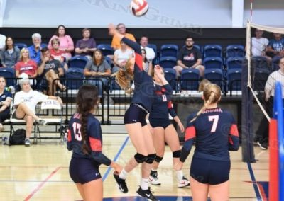 Varsity Girls Volleyball : vs Metro : 8.29.17