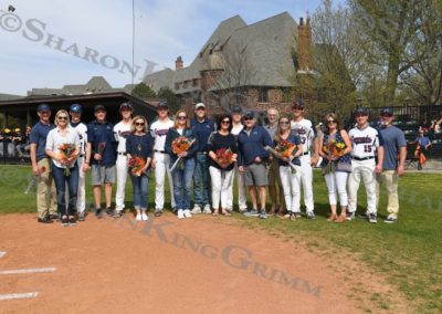 Baseball : Senior Day : 4.17.2018