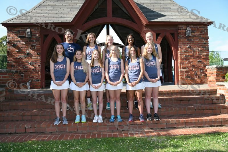 Middle School Girls Tennis : Team & Portraits : 5.3.2018
