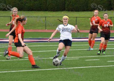 Girls Soccer : vs. Tahlequah : 5.1.2018